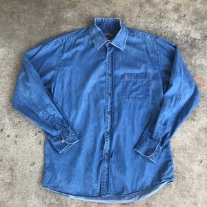 Other - Men's Marin Club Colorful Days Denim Button Up